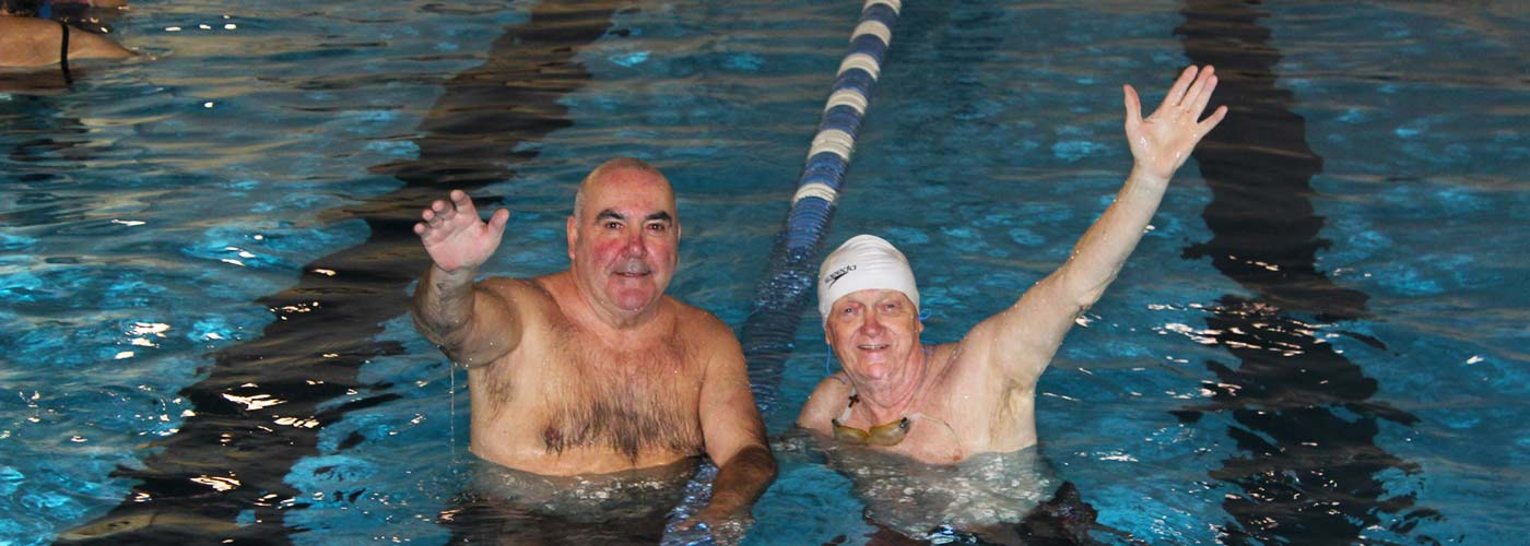Adult Lane Swimming:  Five days a week